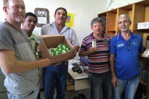 Manhuaçu: Motoristas da SMS recebem protetor solar