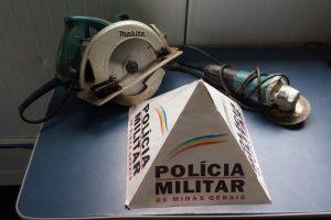 Manhuaçu: PM prende autor de furto e recupera o material