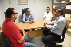 Presidente da Câmara visita CDL em busca de melhorias no comércio