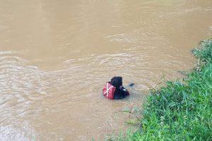Corpo é localizado no Rio Manhuaçu