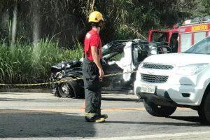 Grave acidente com vítima fatal entre Manhuaçu e Reduto