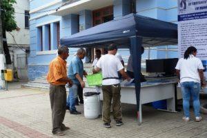 O SAAE comemora Dia Mundial da Água em Manhuaçu