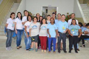 Alunos da APAE visitam a Prefeitura de Manhuaçu