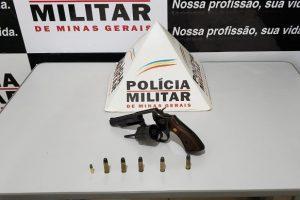 Conceição de Ipanema: Homem é preso com arma e munições