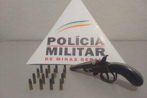 PM apreende diversas armas de fogo na região