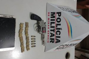 Manhuaçu: PM apreende revólver no Bairro Santa Luzia após postagem
