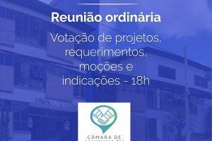 Dia de reunião de vereadores de Manhuaçu