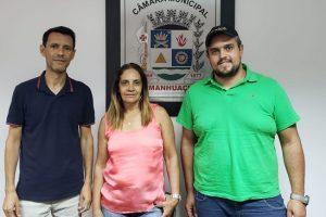 Vereador Administrador Rodrigo recebe visita de profissionais de Matipó em busca de informações sobre proteção animal