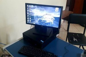 Consep de Santa Margarida faz doações de computadores e impressora para a polícia