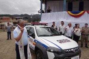 Policiamento nas comunidades rurais de Manhuaçu é reforçado com nova viatura