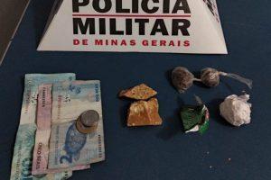 Manhuaçu: PM prende autores de tráfico de drogas no bairro Engenho da Serra