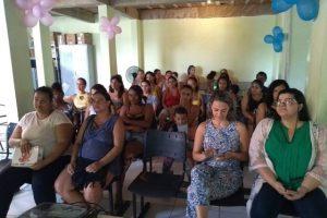 Manhuaçu: ESF Nossa Senhora Aparecida realiza evento de acolhimento à gestante