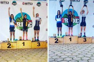 Atletas de Manhuaçu participam de evento de Bicicross em Caeté