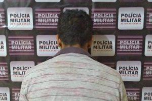 Homem foragido da Justiça é preso pela PM em Mutum