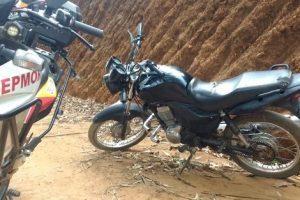PM recupera duas motos furtadas em Manhuaçu