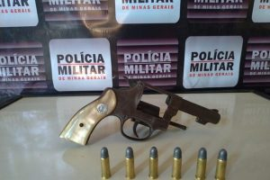 Mutum: Polícia Militar apreende arma de fogo e evita possível homicídio