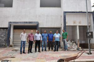 Vereadores de Manhuaçu visitam e fiscalizam obras na cidade