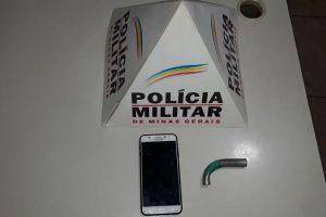 Manhuaçu: PM prende autor de roubo tentado
