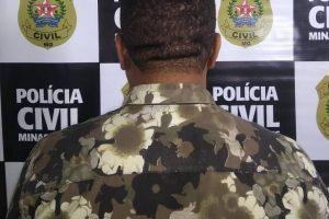 Golpista é preso pela Polícia Civil ao tentar aplicar golpe em Abre Campo