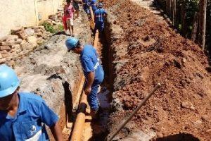 SAAE realiza obra em São Pedro do Avaí