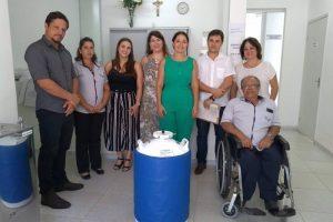 Laboratório do SUS recebe botijão de nitrogênio da Gerência Regional de Saúde