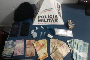 Manhuaçu: Dinheiro, drogas e aparelhos são apreendidos no Bom Pastor