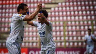 Cruzeiro 100 por cento na Libertadores