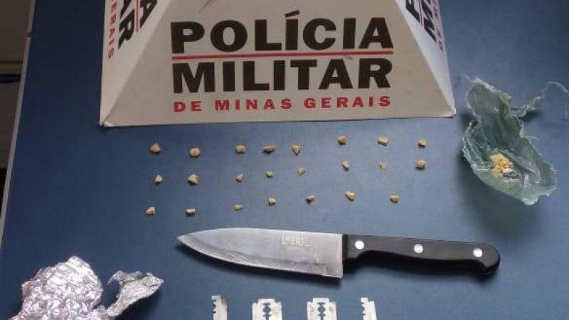 Manhuaçu/Alferes: Polícia Militar prende autores de tráfico de drogas
