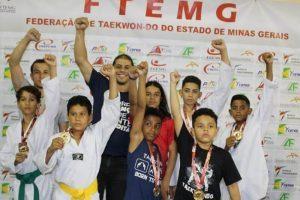 Taekwondo de Manhuaçu representado no Campeonato Mineiro em Betim