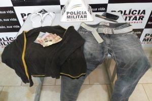 Dois são presos por roubo e receptação de celular em Ipanema