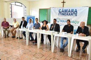 Câmara Itinerante: Vereadores de Manhuaçu vão até ao povo e participam de reunião do COAMMA