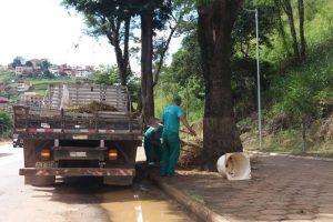 Manhuaçu: SAMAL inicia limpeza da cidade com foco na prevenção ao Aedes aegypti