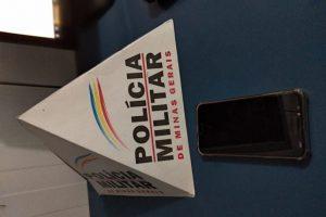Manhuaçu: PM prende autor de receptação de celular