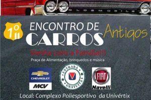 Primeiro encontro de carros antigos em Matipó neste sábado
