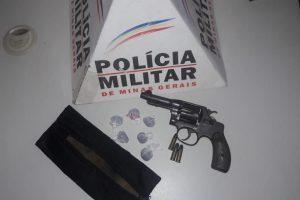 Pedra Bonita: Tráfico ilícito de drogas e apreensão de arma de fogo