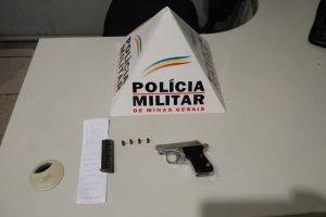 Espera Feliz: Homem é preso por posse ilegal de arma de fogo, embriaguez ao volante e resistência