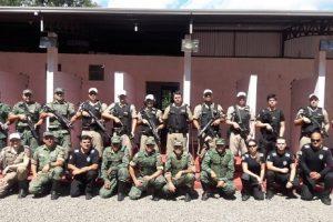 Manhuaçu: PM e PC realizam treinamento com armas portáteis de alta energia