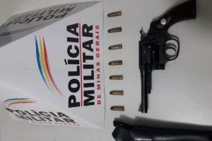 Manhuaçu: PM apreende mais uma arma de fogo após denúncia