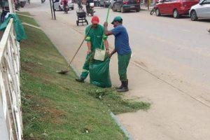 SAMAL realiza nova manutenção em praças e jardins