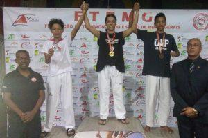 Taekwondo de Manhuaçu brilha na terceira etapa do Campeonato Mineiro em Mariana