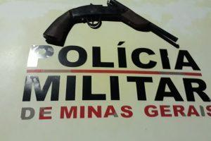 Simonésia: Polícia Militar retira mais uma arma de fogo de circulação