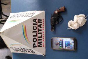 Manhuaçu: PM prende autor por posse ilegal de arma de fogo e receptação