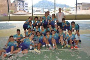 JEMG: CEM Manhuaçu vence no vôlei masculino e feminino