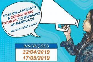 Inscrições para eleição de conselheiro tutelar seguem abertas