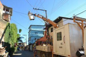 Programa Iluminar contempla rua e rampa Alice Dias, bairro São Vicente