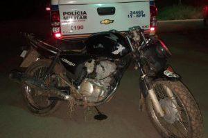 Manhuaçu: Polícia Militar recupera motocicleta furtada no Distrito de Dom Corrêa