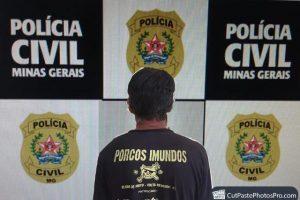 Homem é preso por porte ilegal de arma, acusação de falsificação de documentos e outros crimes