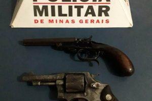 Polícia Militar retira mais duas armas de fogo de circulação