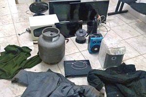 Reduto: Materiais furtados são recuperados. Autor preso pela PM