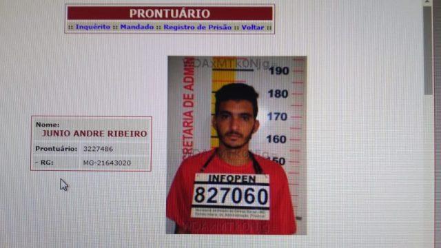 Fuga de presos na cadeia de Abre Campo